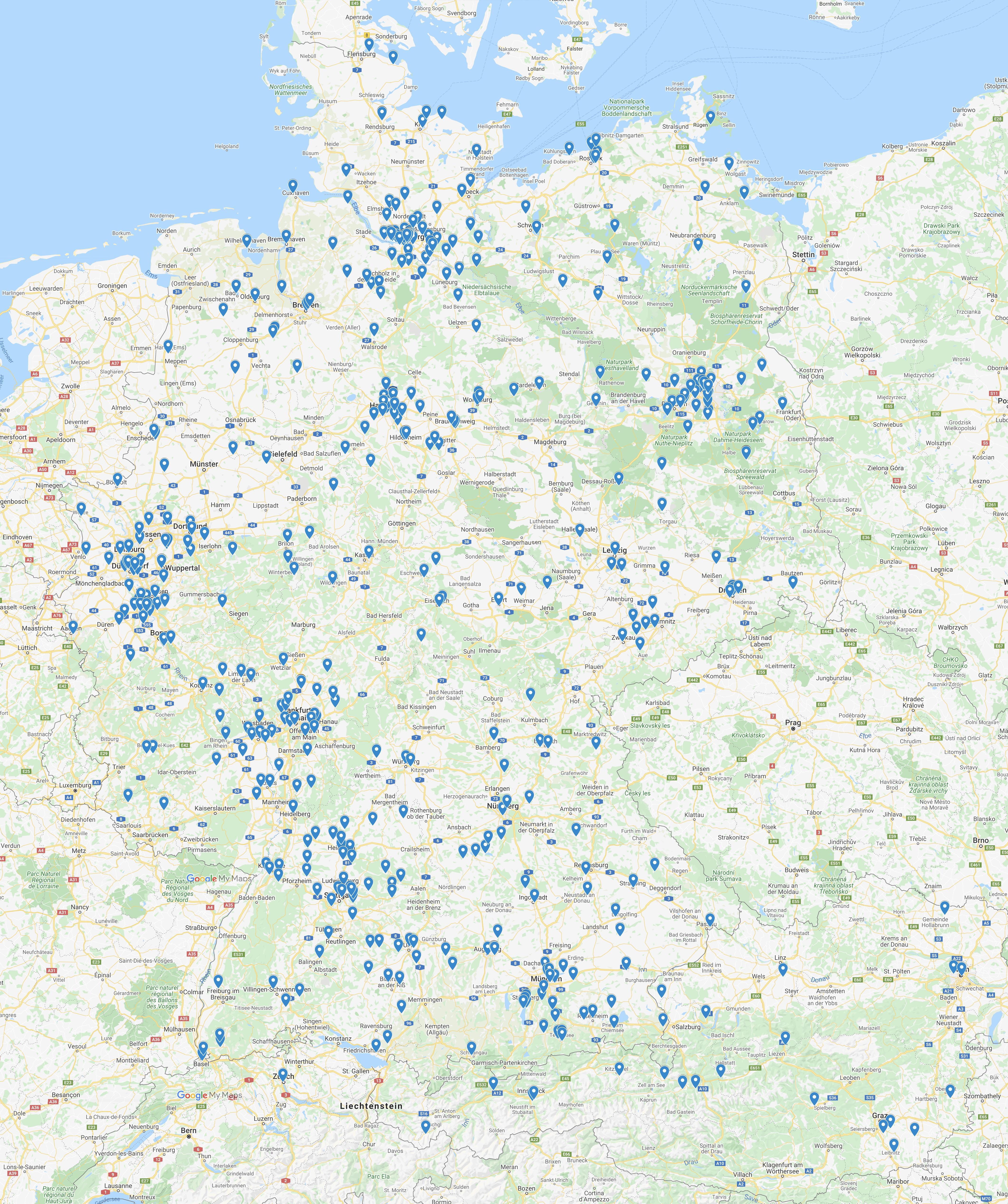 2019 FW Deutschlandkarte