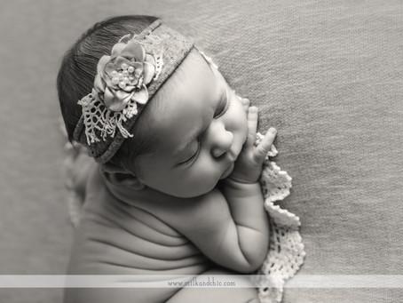 Bebé preciosa. Sesión newborn, Valencia
