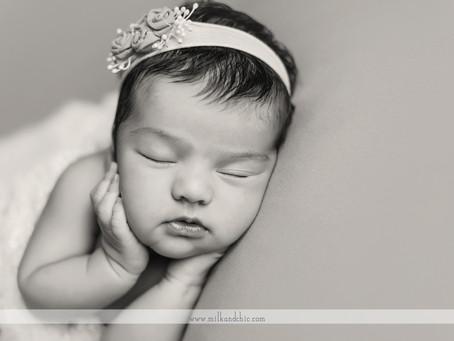 Anna - sesión newborn en Valencia