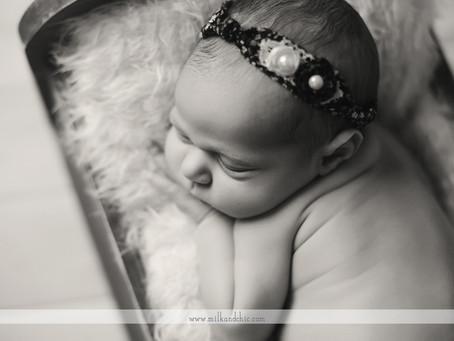 Carlota - sesión de recién nacido en Valencia
