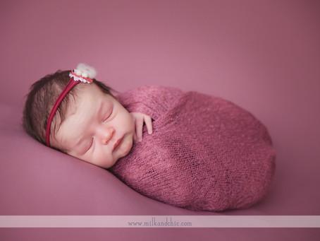 Alba - sesión de recién nacido en Valencia