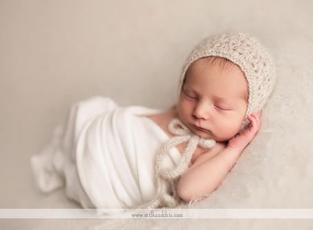 Bebé M. - sesión newborn en Valencia