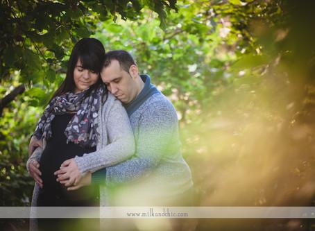 Mireia y Raúl, sesión de embarazo en Valencia
