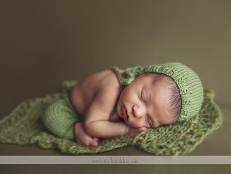 Marcel - sesión de recién nacido en Valencia