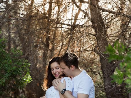Marta y David - sesión de embarazo en Valencia