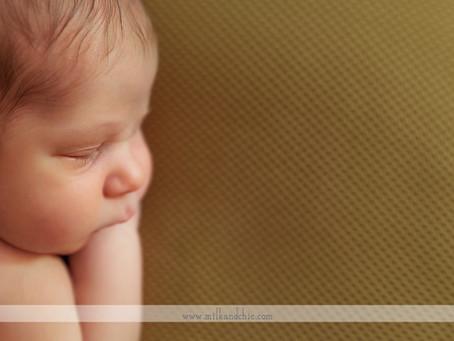 Fran, sesión de recién nacido en Valencia