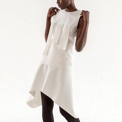 Robe plissé