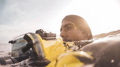 Water Photography im Pazifischen Ozean/ Sportvideo