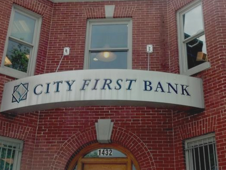 WASHINGTON BUSINESS JOURNAL: City First Bank to merge with another Black-owned bank to create...