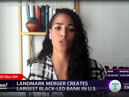 YAHOO FINANCE: Landmark merger creates largest Black-led bank in U.S.