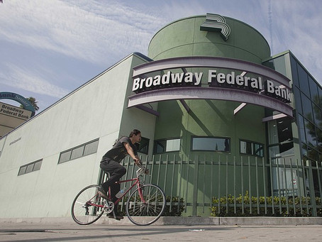 LOS ANGELES BUSINESS JOURNAL: Broadway Financial Forms Country's Largest Black-Led Bank