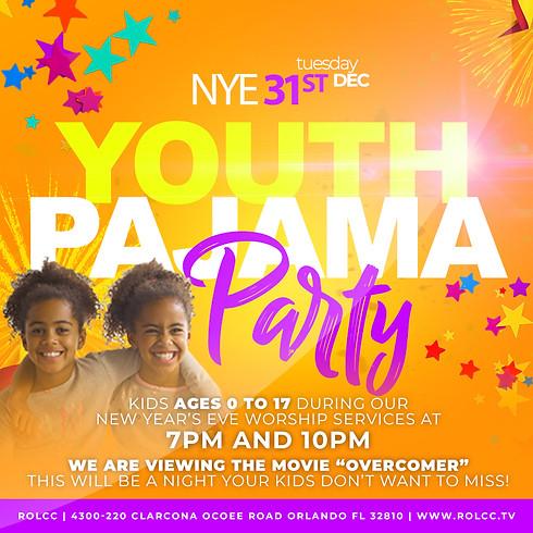 Youth NYE Pajama Party