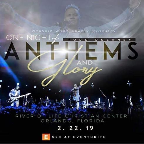 Todd Dulaney Anthems & Glory - Orlando, FL