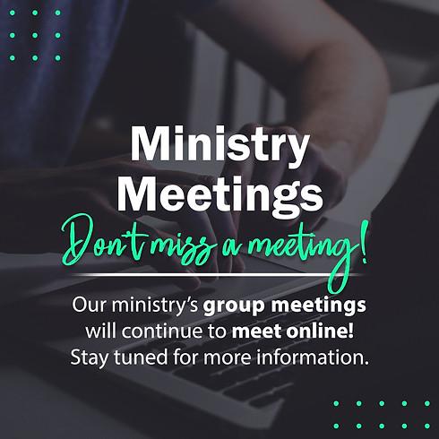 Ministry Meetings