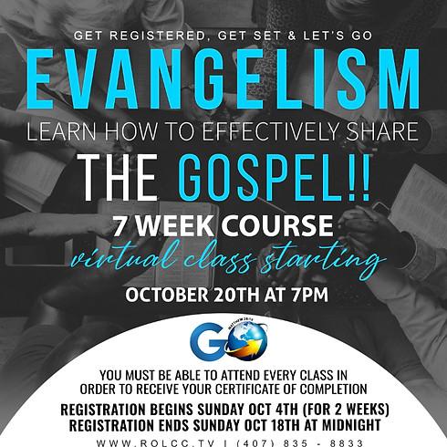 7-Week Evangelism Courses