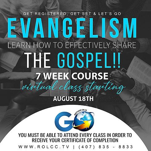 Go Campaign Evangelism Classes