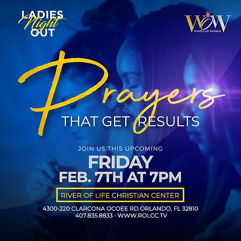 WOW - Ladies Night Out - Prayers That Get Results