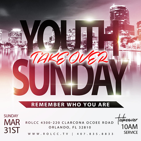 Youth Sunday Takeover-Remember Who You Are