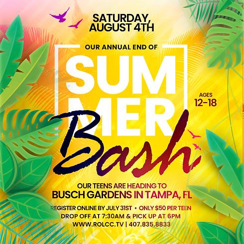 End of Summer Bash-Busch Gardens
