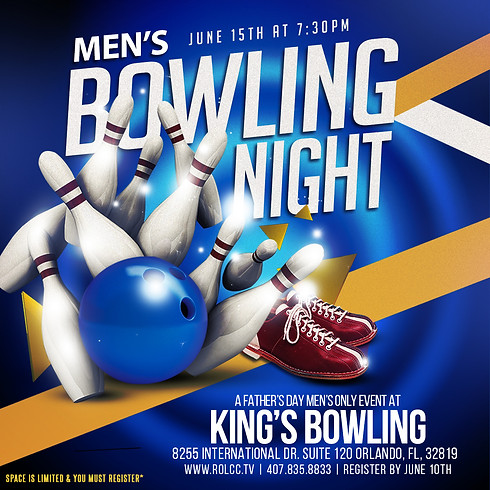 Men's Bowling Night-Registration Is Closed