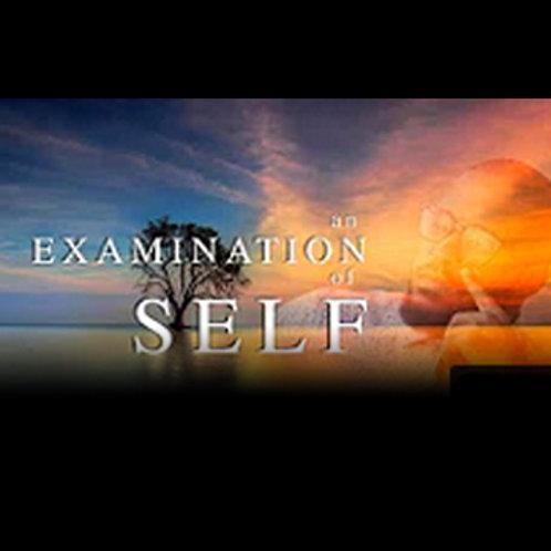 An Examination Of Self