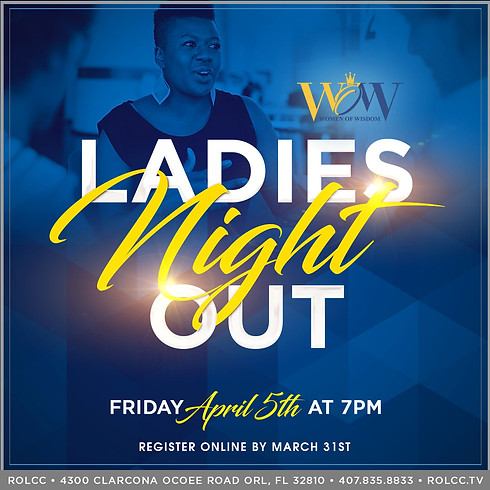 WOW Ladies Night Out-REGISTRATION CLOSED