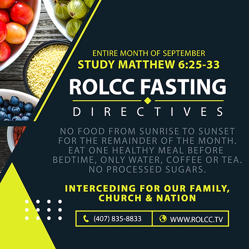 Fasting Directives