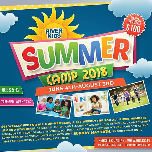 River Kids Summer Camp 2018-CLOSED