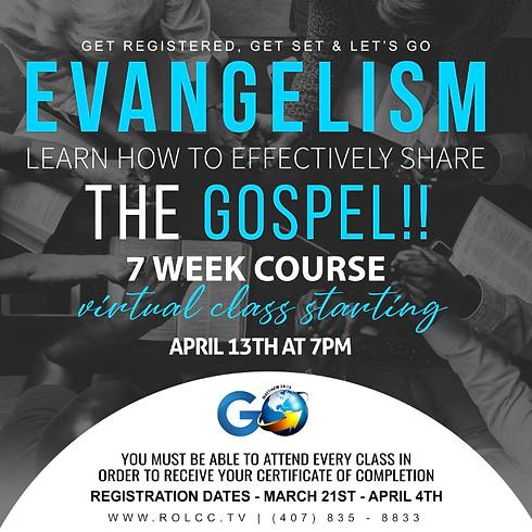 7 Week Evangelism Courses