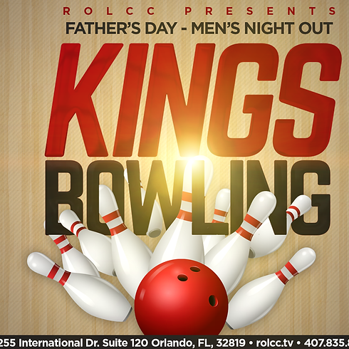 Father's Day Men's Bowling Night