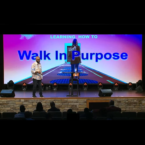 Learning How To Walk In Purpose