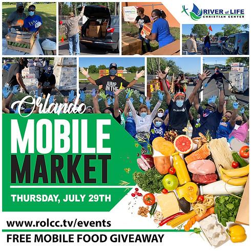 FREE Mobile Food Giveaway - Orlando, FL  (1)