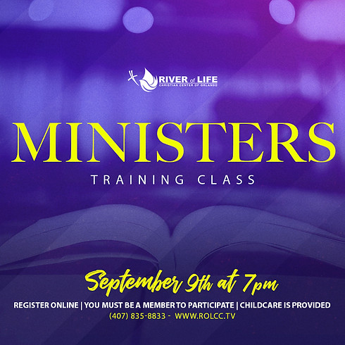 Ministers Training Class