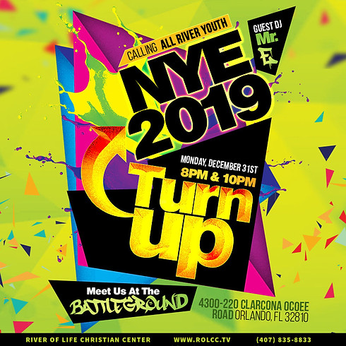 Youth New Years Eve-Turn Up