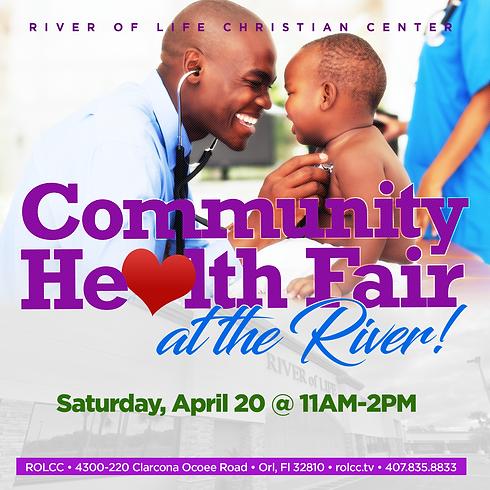 Spring Into Health Community Fair