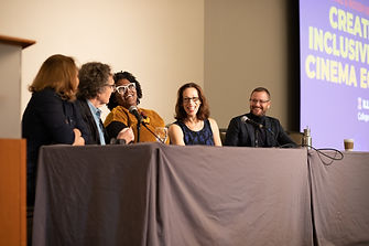 Samanth Sheppard at Chaz and Roger Ebert Symposium Diversity in Film