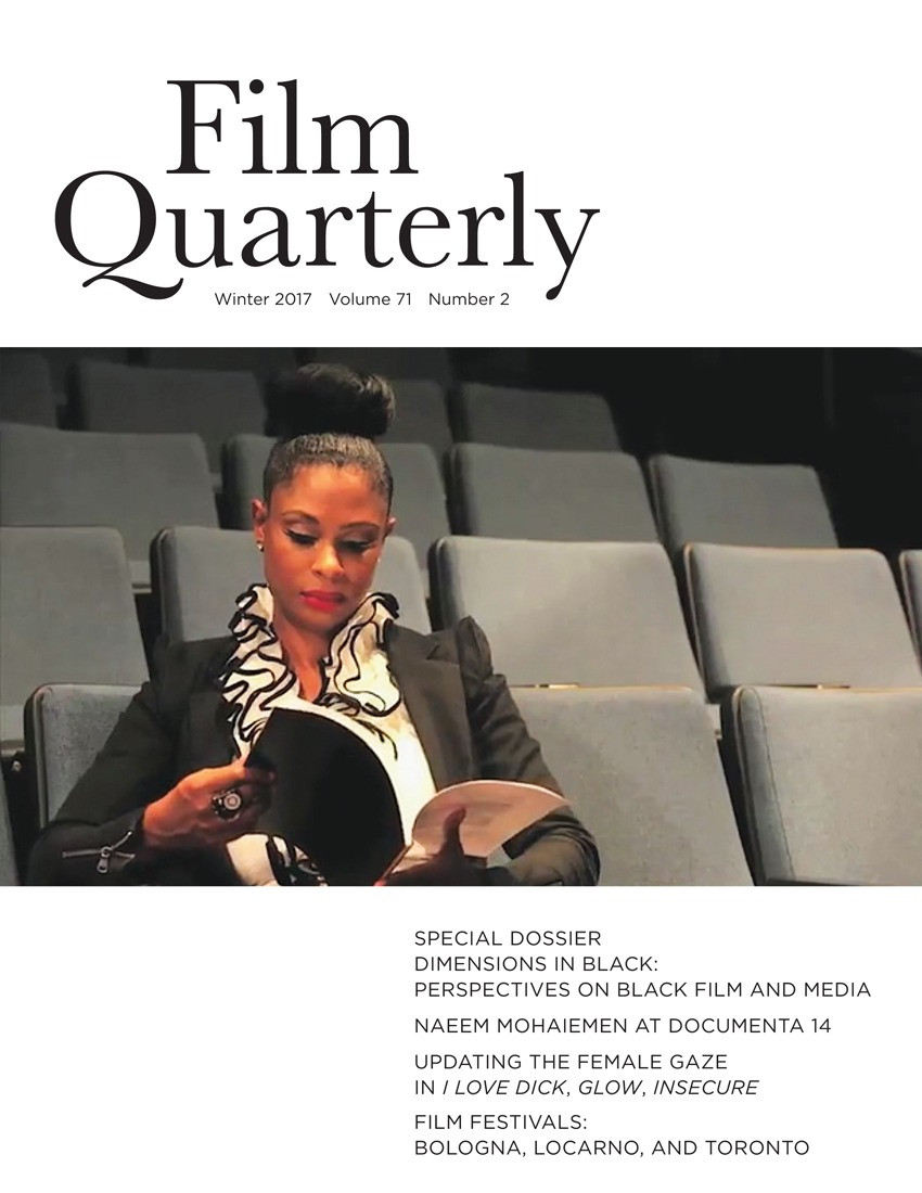 """""""I Love Cinema: Black Film and Speculative Practice in the Era of Online Crowdfunding"""""""