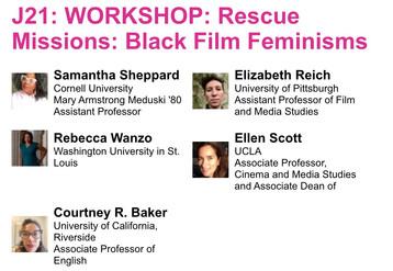 SCMS: Rescue Missions: Black Film Feminisms