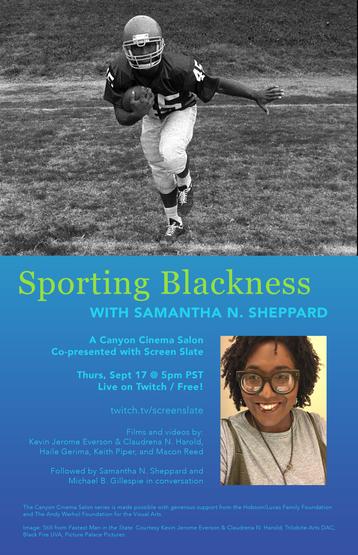 Sporting Blackness with Samantha N. Sheppard
