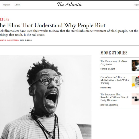 """The Films That Understand Why People Riot"""