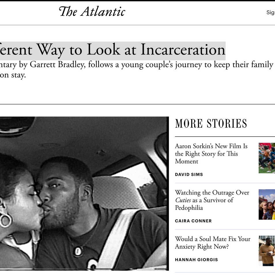 """""""A Radically Different Way to Look at Incarceration"""""""