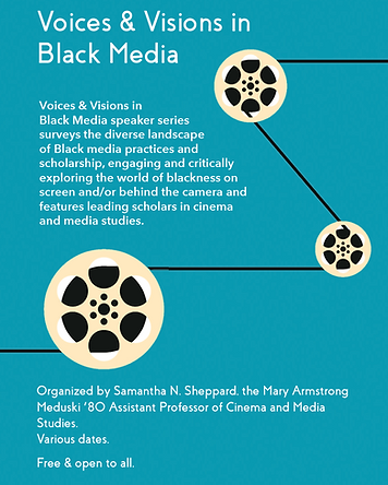 Samantha Sheppard Voices & Visions in Black Media Poster