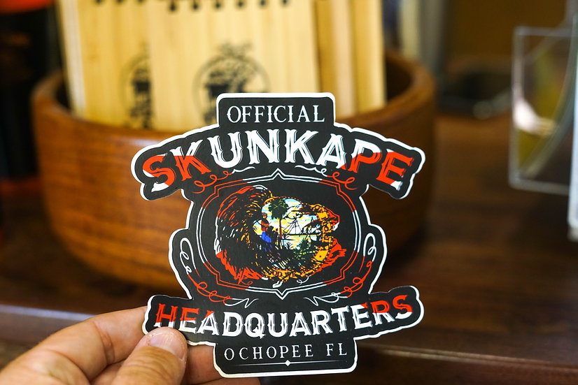 SKUNK APE STICKER FLORIDA