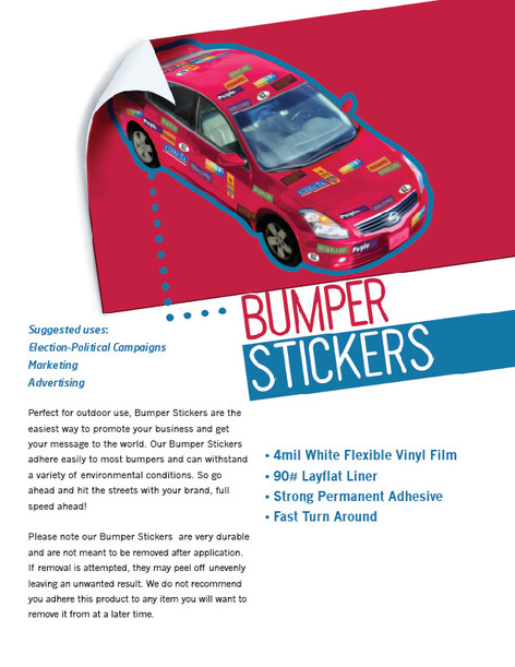 BUMBER STICKERS