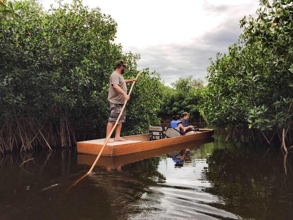 Pole Boat Tour