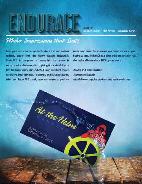ENDURACE - WATER PROOF