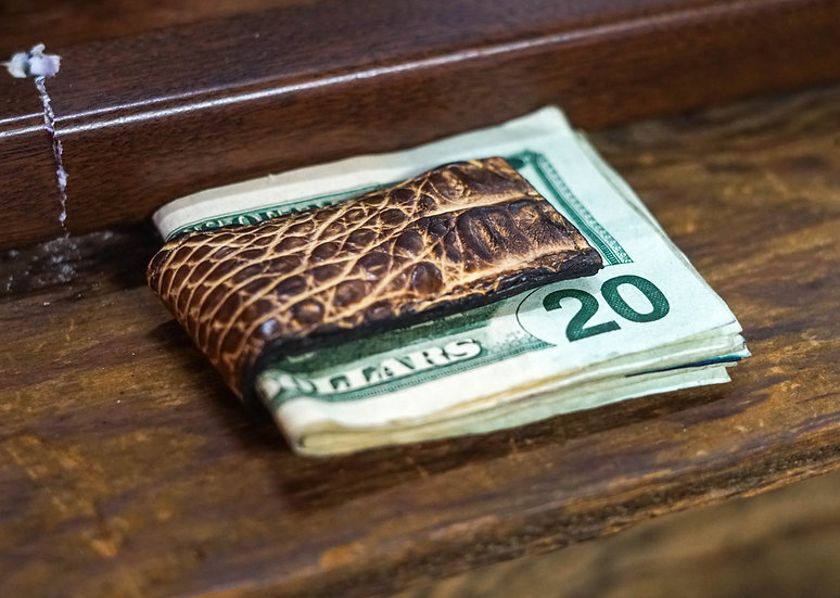 ALLIGATOR MONEY CLIP