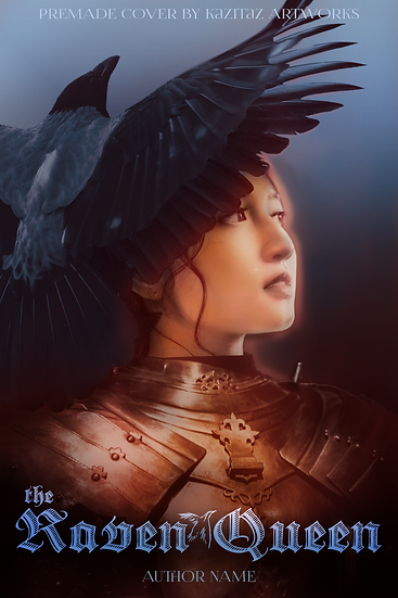 the Raven Queen Premade Cover Art by Kazitaz Artworks.png