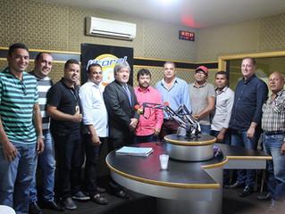 Entrevista dos vereadores na Radio Litoral