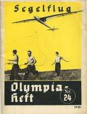 Segelflug Olympiaheft Nr. 24 1924